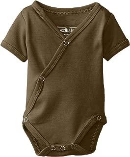 Lovedbaby Baby-Boys Organic Short-Sleeve Kimono Bodysuit