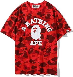 A Bathing APE Bape Kids Camo Shark /& Monkey T-Shirt Tops Summer Tee More Style