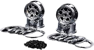 HONG YI-HAT Front and Rear New Wheel Hub with Ring Screws Set for 1/5 HPI ROFUN ROVAN KM BAJA 5B SS RC CAR Toys PARTS スペアパ...