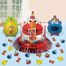 Elmo 1st Birthday Table Decor