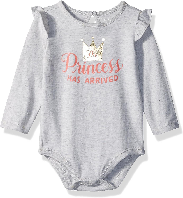 Gymboree BabyGirls Toddler Girls Baby Girl Long Sleeve Sleeve Ruffle Bodysuit