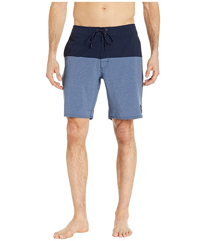 RVCA Gothard Trunk 19 (Navy) Men