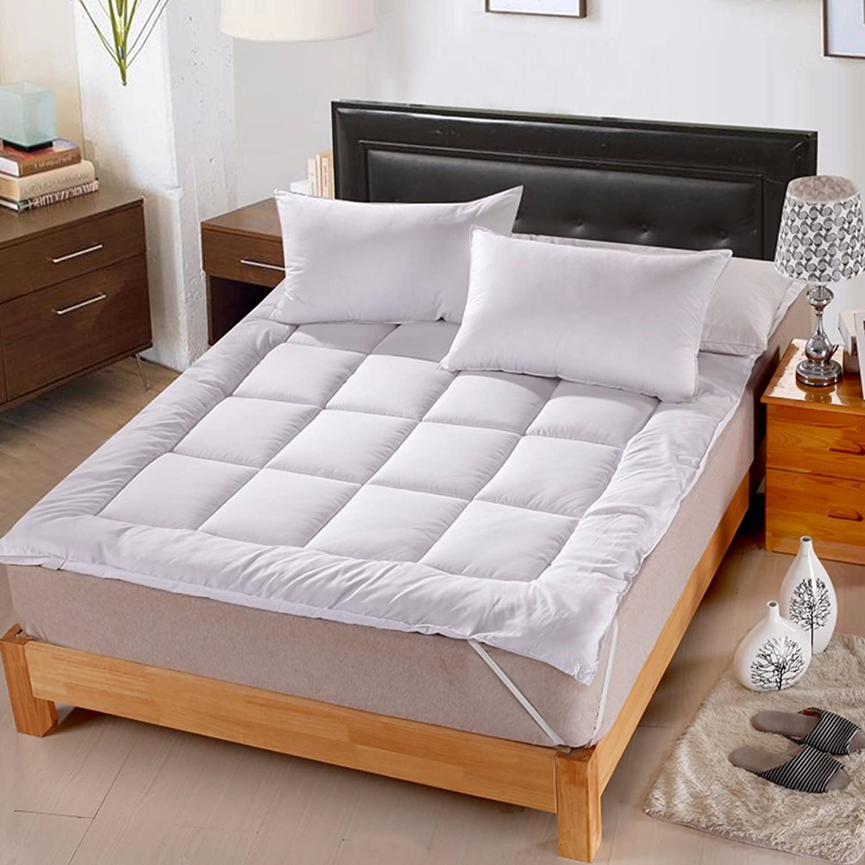 Hotel Bedding Grinding Wool Comfort Cushion Padded mat-A 100x200cm(39x79inch)