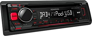 Kenwood KDCDAB400U Digitalautoradio mit CD/USB und Apple iPod Steuerung schwarz