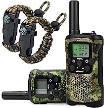 Aikmi Walkie Talkies for Kids 22 Channel 2 Way Radio 3 Miles Long Range Handheld Walkie..