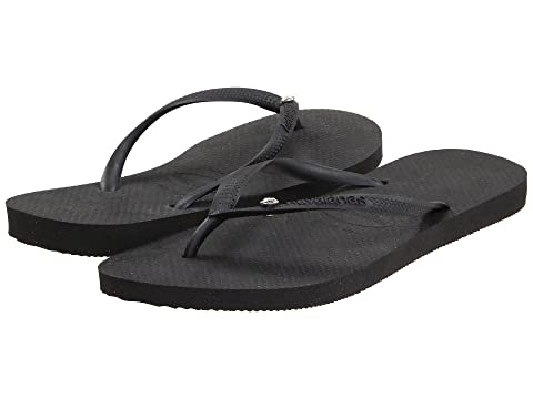 61e5a3b58 Havaianas Slim Crystal Glamour SW Flip Flops at Zappos.com