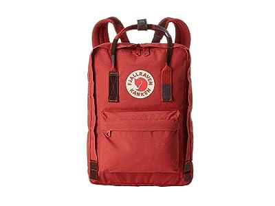 Fjallraven Kanken 13 (Deep Red/Random Blocked) Backpack Bags