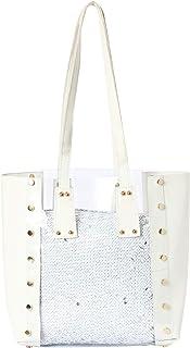 جوجو حقيبة جلد صناعي للنساء - حقائب كبيرة توتس