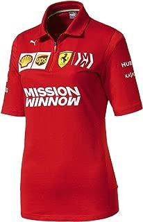 Ferrari Scuderia 2019 F1 Women's Team Polo Shirt Red