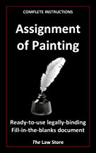Assignment of Painting (with instructions) (English Edition)