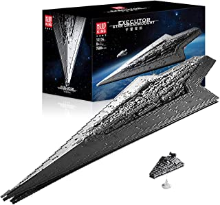Star Destroyer Building Blocks, 7588+Pcs Spaceship Starship Model Construction Set