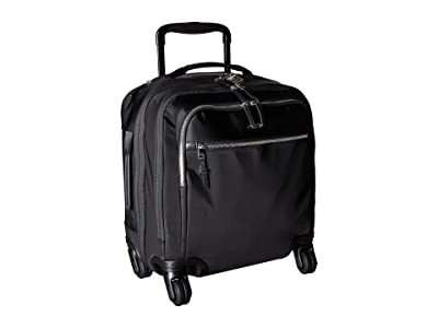 Tumi Voyageur Osona Compact Carry-On (Black/Silver) Carry on Luggage