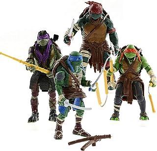 """Peton Teenage Mutant Ninja Turtles Movie 5"""" Action Figure TMNT 4pcs/Lot Toys LY"""