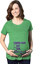 Maternity Coming Soon: Mermaid Pregnancy Tshirt Funny Under The Sea Tee for Belly Bump