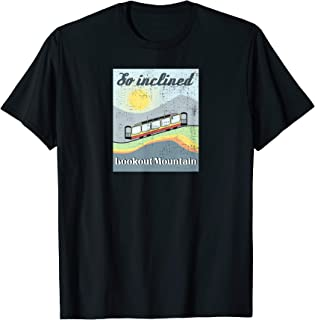 Lookout Mountain Incline Railway Retro Travel Poster Style T-Shirt