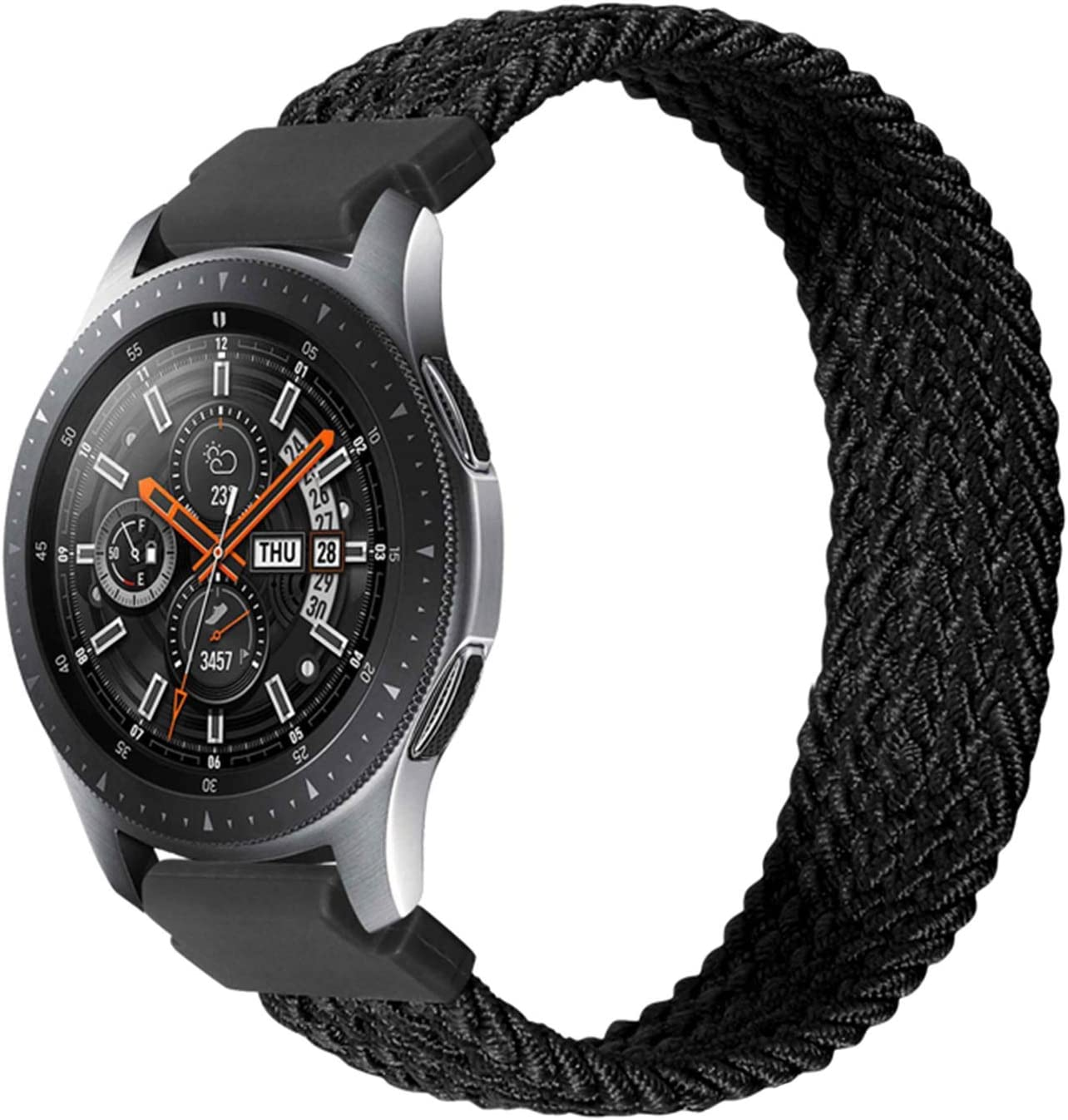 Special Campaign JJRRPA 40% OFF Cheap Sale 22mm 20mm Solo Loop Watch 3 Band for Strap Galaxy Samsung