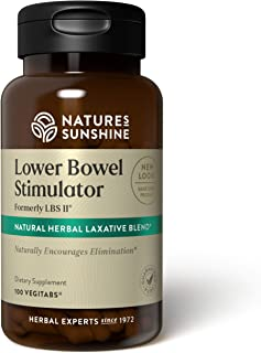 Nature's Sunshine LBS II, 100 Vegitabs | Herbal Laxative with Cascara Sagrada Bark Supports the Digestive System and Lower...