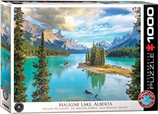Maligne Lake Alberta 1000-Piece Puzzle