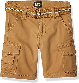 شورت كارجو LEE Boys Little Cargo ، حزام بلون القمح، 6