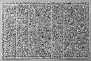gray outdoor doormat