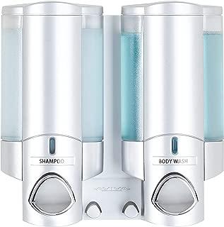 Better Living Products 76235-1 AVIVA Two Chamber Dispenser, Satin