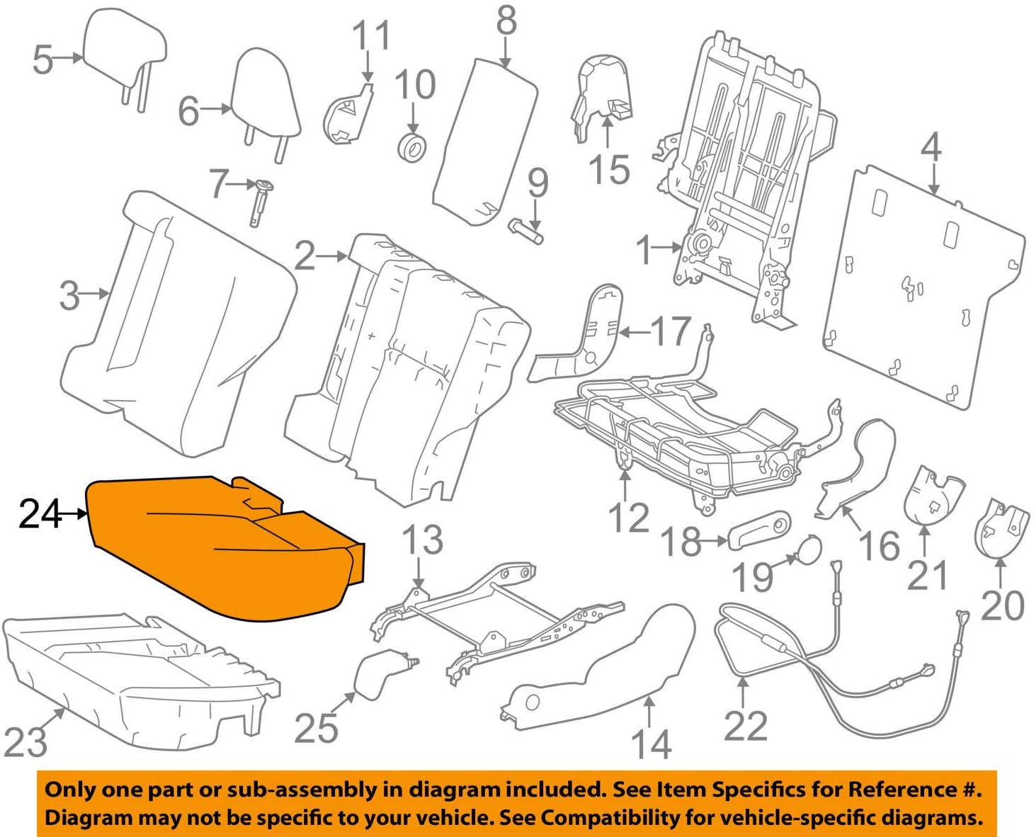 Sale Sale SALE% OFF special price TOYOTA Genuine 71076-0R080-A3 Seat Cover Cushion