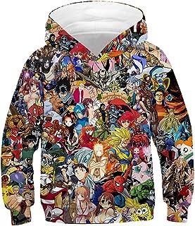 Teen Boys Girls Fashion 3D Printed Galaxy Long Sleeve Pullover Hoodies Hooded Sweatshirts with Pocket 6-13Y