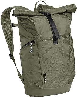 CamelBak Unisex Pivot Roll Top Pack Mochila de día, color verde oliva, talla única