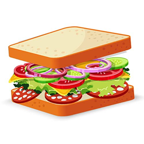 Tricky Sandwiches Topping Stack   Folding Puzzle Game