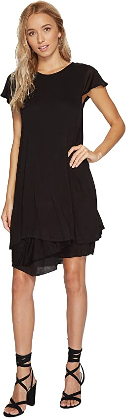 f868f38259 Kensie foiled rib shift dress ksnk9889