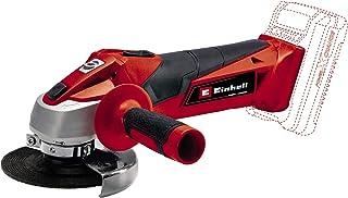 Einhell Cordless Angle Grinder TC-AG 18/115 Li-Solo Power X-Change (18 V, 8500 rpm, Maximum Cutting Depth 28 mm, Softstar...