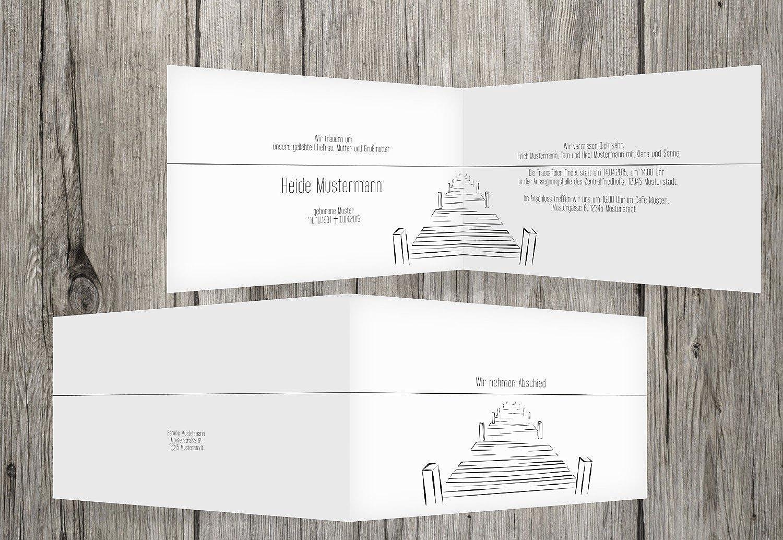online al mejor precio Tarjeta de de de luto Boardwalk, blancoo, 70 Karten  ¡envío gratis!