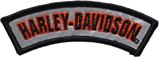 Harley-Davidson Mens Rocker H-D Name Small Patch