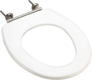 Vitra Bathroom Toilet Seat Haromed Care 15 with Special Mounting Stainless Steel without Lid, Set of 1, White, 511532