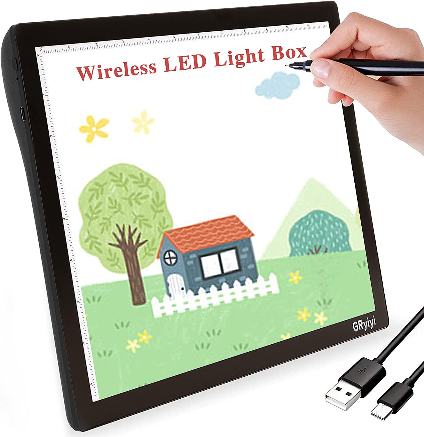 Max 44% OFF Light Box for Tracing Rechargeable A4 Gryiyi online shopping
