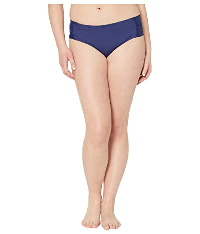 BECCA by Rebecca Virtue Plus Size Color Code Hipster Bottoms (Navy) Women