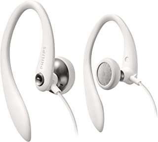 Philips SHS3300WT/10 - Auriculares deportivos, color blanco