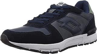 Lotto Men's Runner NVY Dk/Asphalt Track and Field Shoes-6 UK/India (40 EU) (8907181770505)