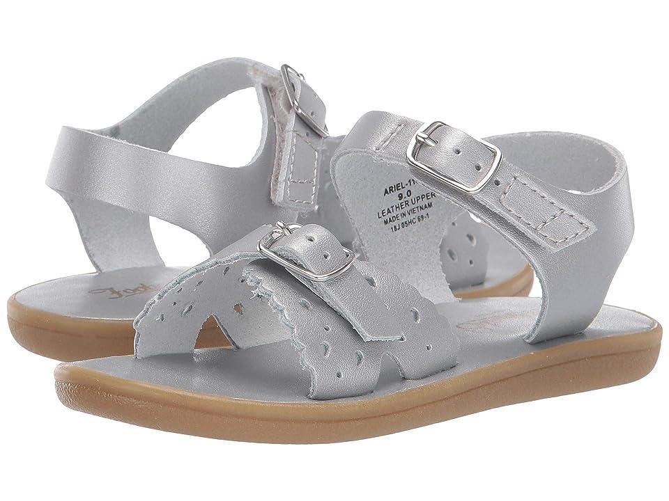 FootMates Ariel (Infant/Toddler/Little Kid) (Silver) Girls Shoes