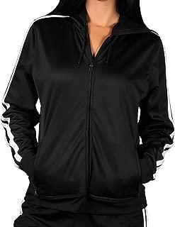 Vantage Ladies Knit Track Jacket