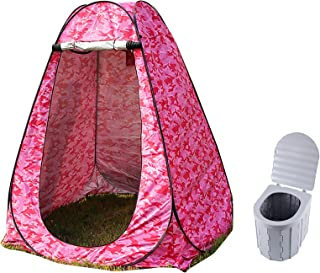 Shower Tent Portable Foldable Toilet Privacy Tent Outdoor Camping Toilet Outdoor Bathroom Changing Dressing Room Privacy S...