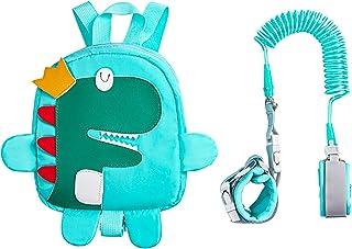 HUGVIDAS Mochila de cuerda antipérdida, cinturón para caminar para niños, cinturón 2 en 1 con mochila y cuerda antipérdida...