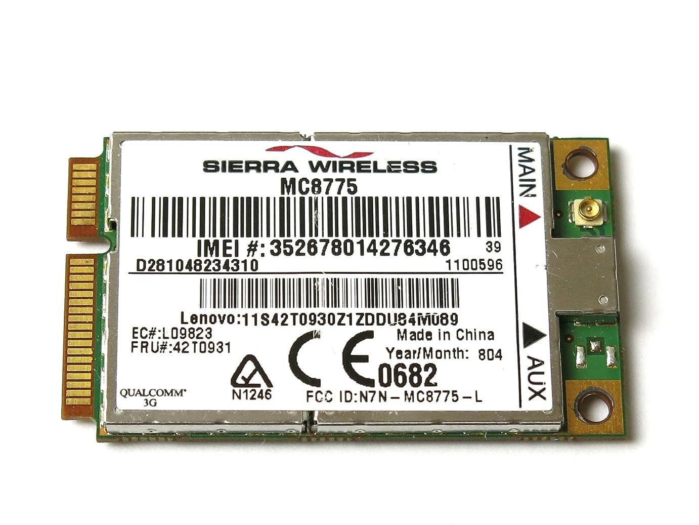 Lenovo Thinkpad Unlocked Sierra MC8775 3G WWAN Card X61 T61 T61P x300 FRU:42T0931