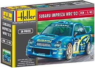 Glow2B Heller - 80199 - Maqueta para Construir - Subaru Impreza WRC '02 - 1/43
