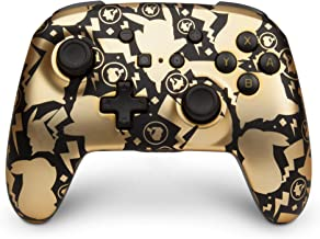 PowerA Pokemon Enhanced Wireless Controller for Nintendo Switch - Pikachu Gold (Only at Amazon.Com) - Nintendo Switch