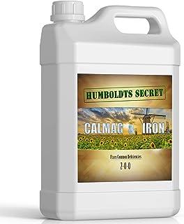 Humboldts Secret Calcium, Magnesium and Iron Supplement – Hydroponic Supplies – Liquid Nutrient Fertilizer – Treats Plant Deficiencies – Supports Vegetative and Flowering Stage – 1 Gallon