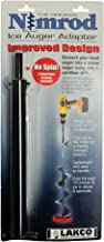 Lakco Nimrod Ice Auger Adapter - Converts Hand Auger to Power Auger - Made in USA - #TONII - for Pin System Augers