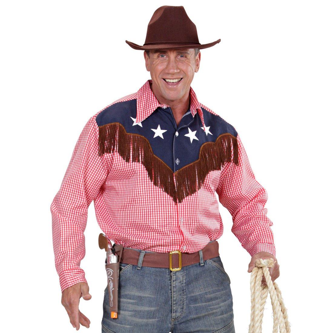 NET TOYS Camisa Country - XL (ES 54) | Camisa Rodeo | Camiseta Vaquero | Top Oeste Salvaje: Amazon.es: Juguetes y juegos