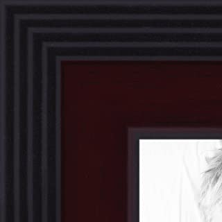 ArtToFrames 8x18 inch Windsor Mahogany Picture Frame, 2WOMBW31-WM-8x18