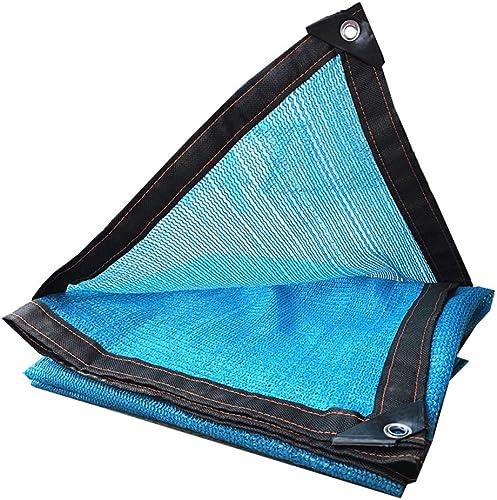 JUEJIDP écran Solaire résistant à la Pluie extérieur Transparent ondulé Pliable avec bache en Plastique de boutonnière en métal de différentes Tailles Tente